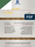Cuentas por cobrar - Efrén David Saavedra