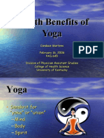 Health Benefits of Yoga.ppt