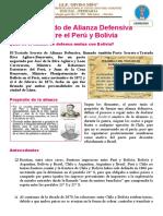 EL TRATADO DE DEFENZA MUTUA PERU- BOLIVIA