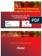 D103 Perspective for Tailoring Radiotherapy