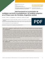REVISTAECOSISTEMAS.DIVERSIDAD Y SERV. ECOSISTEMICOS