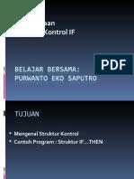 struktur kontrol vb