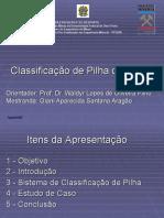 Classificação de Pilha de Estéril_CVRD