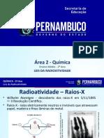 Leis da radioatividade. Transmutações.