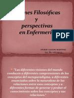 VISIONES FILOSOFICAS Y METAPARADIGMAS EMERGENTES EN ENFERMERIA