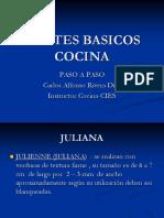 17 - CORTES BASICOS COCINA