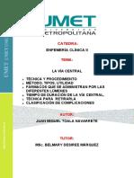 CLÍNICA II  VIA CENTRAL