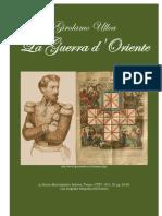 ULLOA Girolamo. On Crimean War. 1855