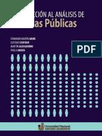 Introducción al análisis de Políticas Públicas Jaime, Dufour, Alessandro, Amaya