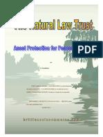 La Ley de Fideicomiso Natural libro