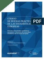 Codigo Europeo Buenas Practicas Estadisticas