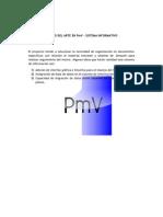 Documentación proyecto PmV