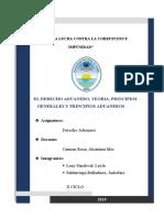 ADUANERO, TEORIA, PRINCIPIOS GENERALES