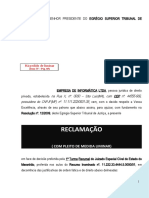 reclamacao_stj_turma_recursal_juizado_especial_pedido_liminar_modelo_213_BC180