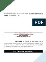 recurso_inominado_juizado_especial_majorar_indenizacao_aumentar_dano_moral_PN226