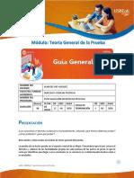 1 Guía General - Teoría General de la Prueba - Alan Del Río Vásquez