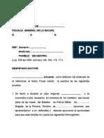 ALEGATOS DEFENSA  TRAFICO ESTUPEFACIENTES