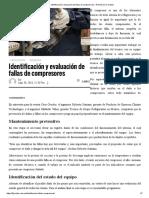 Identificación y evaluación de fallas de compresores – Revista Cero Grados
