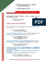 Conjugação pronominal - REGRAS (blog 7 09-10)