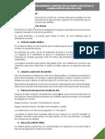 PROCEDIMIENTO CONSTRUCTIVO DE RAMPA PARA CONTENCION DE ACUMULACIÓN DE AGUA DE LLUVIA