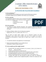 CONCURSO DE PUENTE DE PALITOS DE MADERA 2019