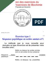 Correction des exercices du fascicule d'exercices de Biochimie ( PDFDrive ).pdf
