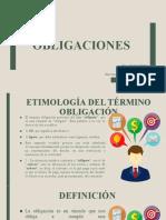 Obligaciones - Derecho Romano.