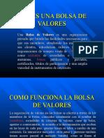 PPT BOLSA DE VALORES