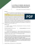 Mujer, Exclusion Y Escritura En Colombia Aproximacion 1