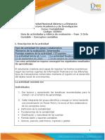 Guia de actividades y Rúbrica de evaluación - Fase  2 Ciclo Contable – Conceptos contables