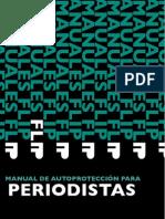 Protección para Periodistas . Manual de Autoprotección para Periodistas
