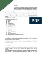 Ficha de identificacion y lesiones primarias