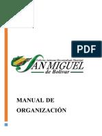 Manual de Organización GAD San Miguel de Bolívar
