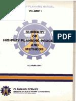 Highway Planning Manual Volume 1.pdf