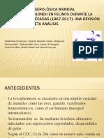 Exposición Toxoplasma Gondii