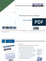 ETI Programmes'