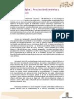 Línea estratégica 1 - Reactivación económica y valle del software