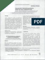 La evaluación psicopedagógica Revisión de sus componentes