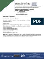 Eva. Distancia Antropología 1-2020