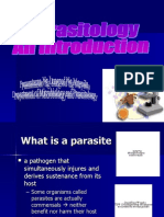 Parasitology an Introduction