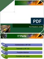 Utilizando a Calculadora HP 12C