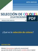 20 Selección de colores