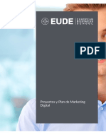 proyecto y plan de marketing digital  pdf