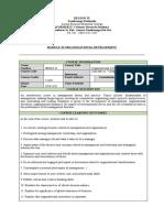 Organizational Development Final Module