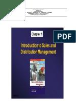 Distribution Management MODULE