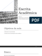 INTRO - PINHEIRA - Escrita Acadêmica