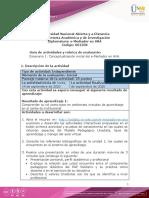 Guía de actividades y rúbrica de evaluación - Unidad 1- Escenario 1 - Conceptualización inicial del e-Mediador en AVA (1)