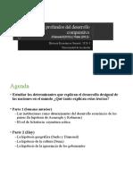 3. Determinantes profundos del desarrollo comparativo - Geografia cultura y otras hipotesis Diamond Nunn (1).pptx
