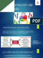 SEGMENTACION DE MERCADO UNIDAD 5