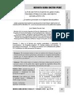 La Licencia Por Motivos Particulares Del Servidor d. Leg. 276 - Autor José María Pacori Cari